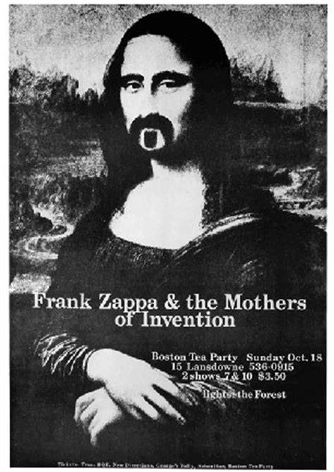 frank zappa mona lisa poster woodstock trading company