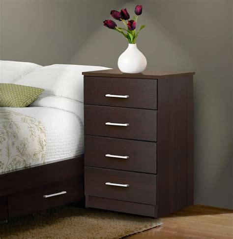 how tall should a nightstand be tall nightstand contemporary 4 drawer nightstand
