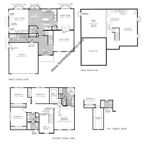 subdivision floor plan inspirational homes by marco floor plans new home plans