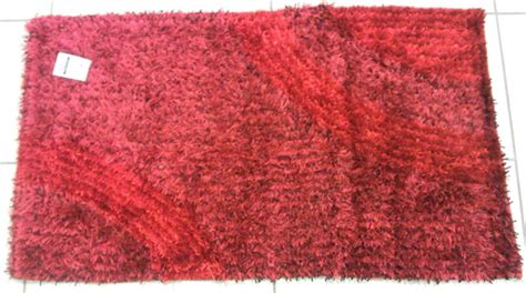 tappeto shaggy rosso sirge tappeto shaggy verde 60 x 105 cm