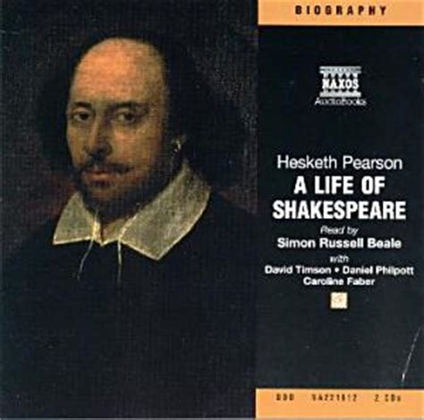 shakespeare biography documentary audio book review a life of shakespeare by hesketh