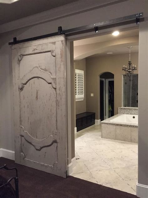 Barn Doors Houston Sliding Barn Doors Modern Bathroom Houston By The Reclaimed Wood Shop