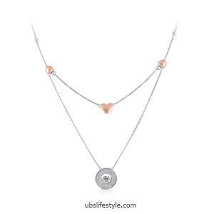 Liontin Cherry tips memilih kalung sesuai dengan neckline baju agar