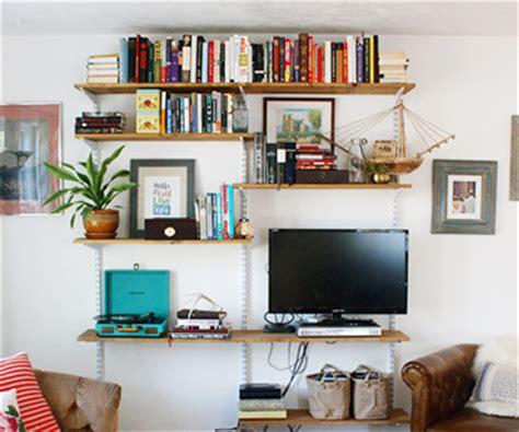 open shelves in living room diy open shelving living room unit