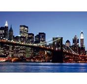 Wall Mural Wallpaper Brooklyn Bridge New York Skyline NYC
