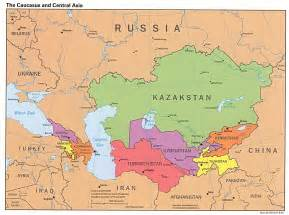 file the caucasus and central asia political map jpg