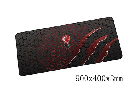 Mouse Pad 1 Juta msi mouse pads 900x400x3mm pad to mouse notbook computer mousepad best seller gaming padmouse