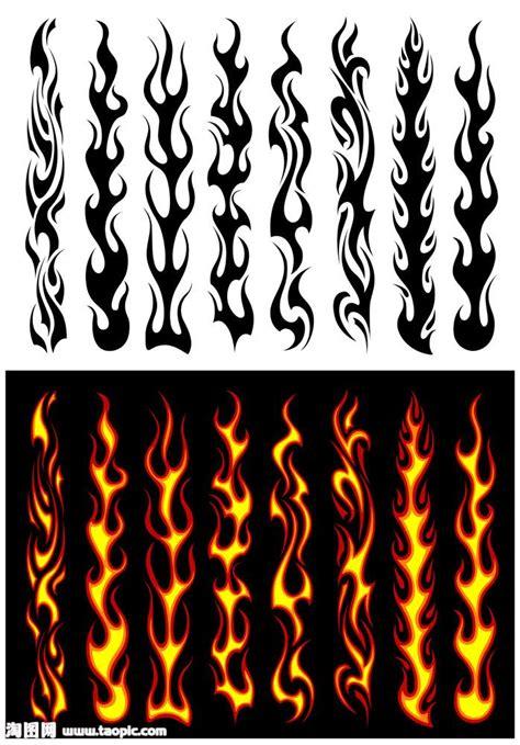 火焰纹身图案内容 火焰纹身图案图片