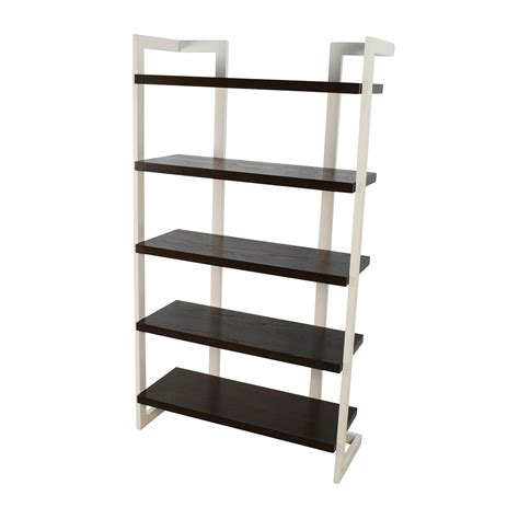 elm white bookcase 56 elm elm bookcase storage