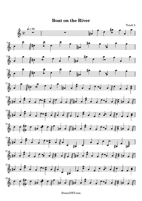 boat on the river lyrics boat on the river sheet music boat on the river score