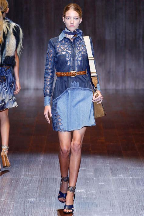 Dress Ld100 Denim Gucci gucci springs back to the 70 s denim for 2015 eat sleep denim