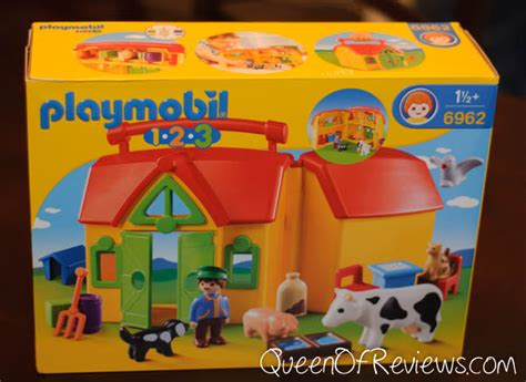 Playmobil 1 2 3 Large Farm 1 2 3 my take along farm from playmobil of reviews