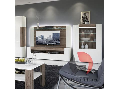 Design Your Own Living Room Furniture Toronto High Gloss Finished Collection With The Oak Melamine Trim Hull Furniture