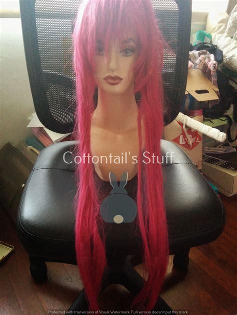 wig pink tua rambut palsu kribo allsize wig badut wig costplay jual wig pink tua fanta fuschia ren kouha import