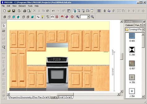 kitchen layout program furniture design software