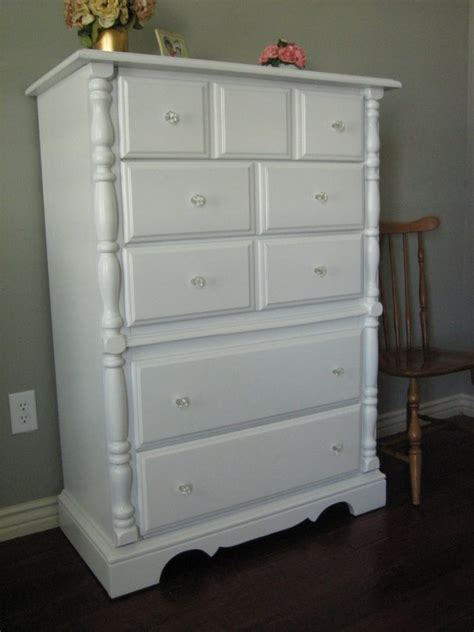 Bedroom Tall Wide White Stained Wooden Chest Dresser With Bedroom Chests And Dressers