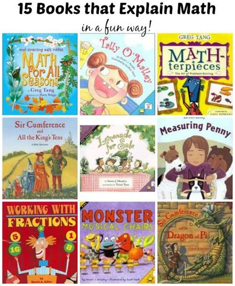 picture books to teach math marvelous math books for math story time and equation