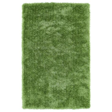 Shop Kaleen Posh Lime Green Rectangular Indoor Handcrafted Lime Green Rug