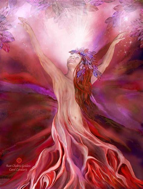 healing series root chakra goddess