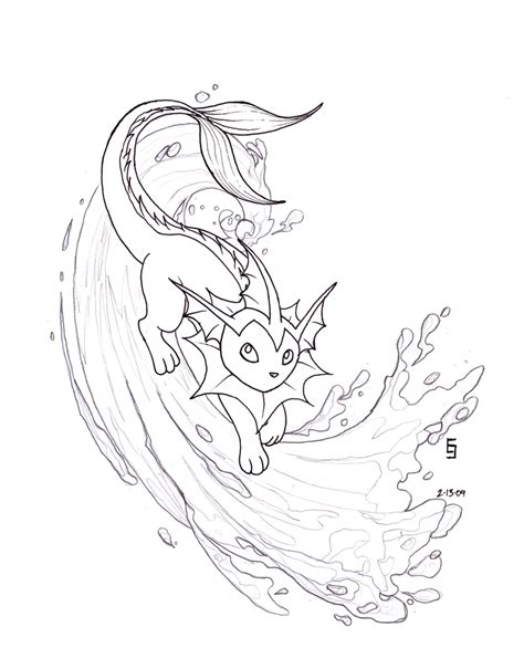 vaporeon coloring pages related keywords vaporeon