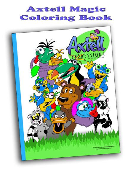 Axtell Magic Coloring Book Magic Coloring Book