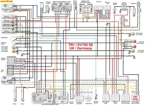 1978 yamaha xs650 wiring diagram 1977 xs750 wiring diagram
