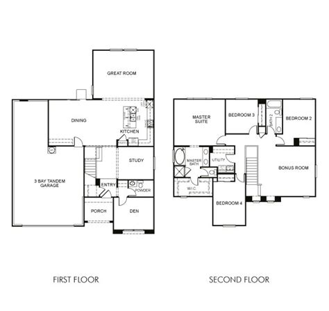 meritage homes floor plans province maricopa az homes