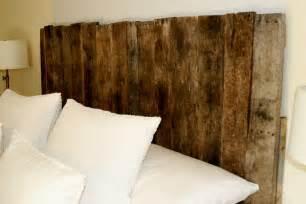 Wood Pallet Headboard Sprig Pallet Headboard