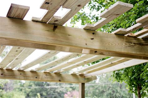 build your own pergola part two building a beautiful