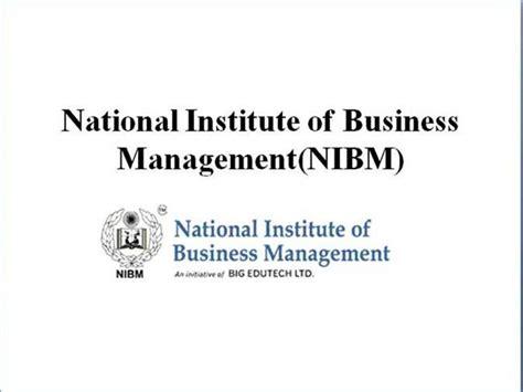 Nibm Mba by Nibm Global Mba Authorstream