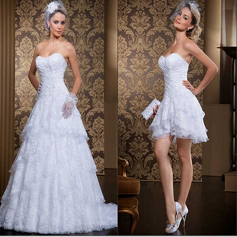 2 In 1 Brautkleid by Kaufen Gro 223 Handel 2 In 1 Wedding Dress And