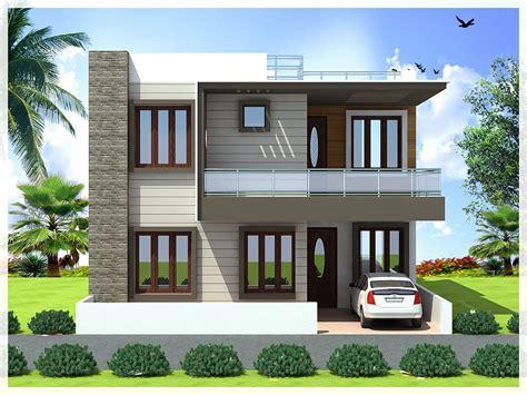 Front Elevation Design Modern Duplex Front Elevation | modern front elevation of duplex house duplex house