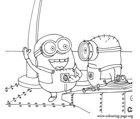 coloring pages minions despicable me minion coloring pages