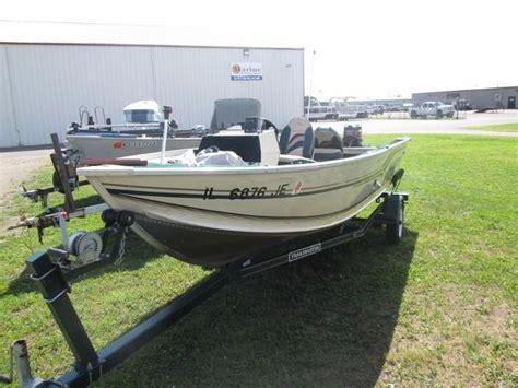 used alumacraft boats in wisconsin used power boats alumacraft boats for sale in wisconsin