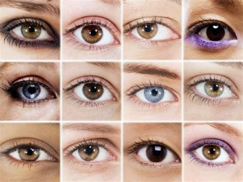 different types of eye colors obsessed eye makeup that suits you