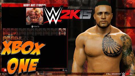 wwe 2k15 create wrestler superstar hd youtube wwe 2k15 xbox one new create a wrestler youtube