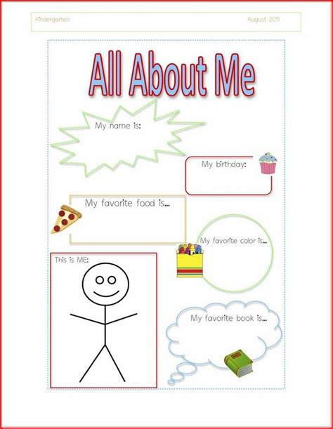 pattern book lesson plans kindergarten 188 best all about me theme images on pinterest