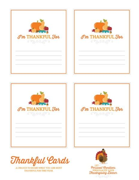 i am thankful for template pre k card thanksgiving printables personal creations
