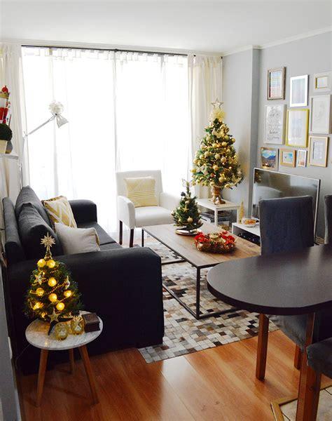 como decorar un apartamento pequeno en navidad decoraci 243 n de navidad en espacios peque 241 os el blog del