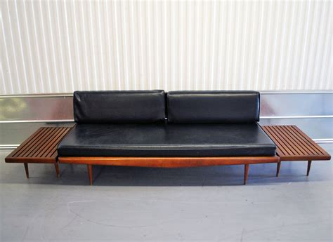 day bed sofas mid century danish modern eames era daybed sofa by