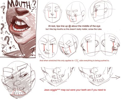 doodle drawing tutorials the lip tutorial the part is on my and