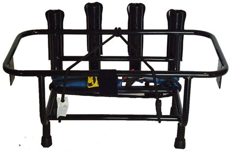 Jet Ski Fishing Rack by Jet Ski Fishing Rack With 4 Rod Holders And Utility