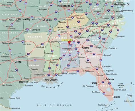 map of southeast coast usa southeast usa map new interactive of southeastern united
