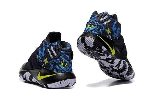 nike green basketball shoes nike kyrie 2 camo black neon green basketball shoes