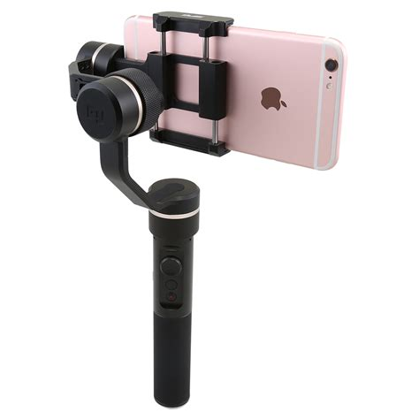 iphone gimbal feiyu 3axis handheld gimbal handle stabilizer for mobile cell phone iphone tv065