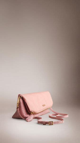 alligator rubber st burberry the petal in alligator and rubber in pink pale
