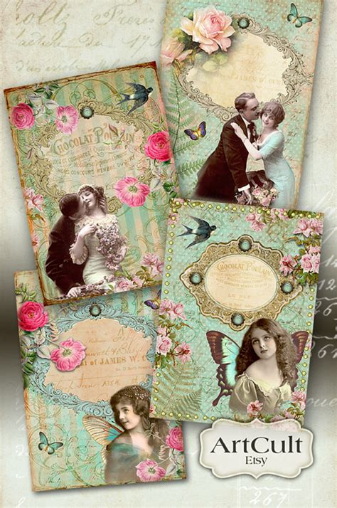 free printable victorian birthday cards printable images victorian touch vintage greeting cards