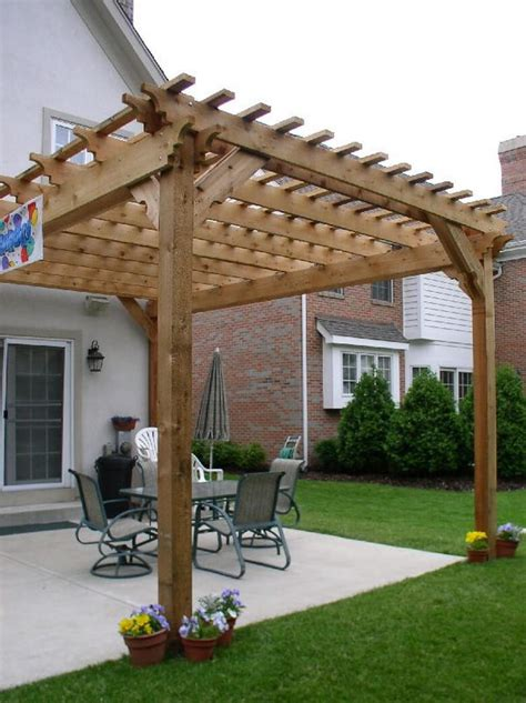 Ideas Design For Attached Pergola Attached Pergolas To Expand Outdoor Living Space Pergola Gazebos