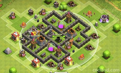 Th5 Home Village Layout | clockwork farming base layout for th5 clash of clans land