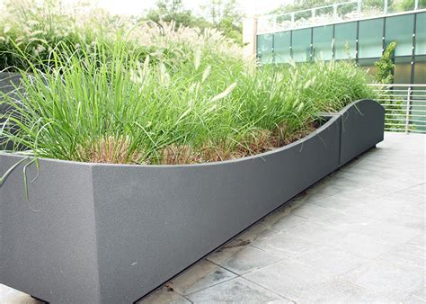 Roof Planters by Custom Planters Custom Products Green Roof Solutions